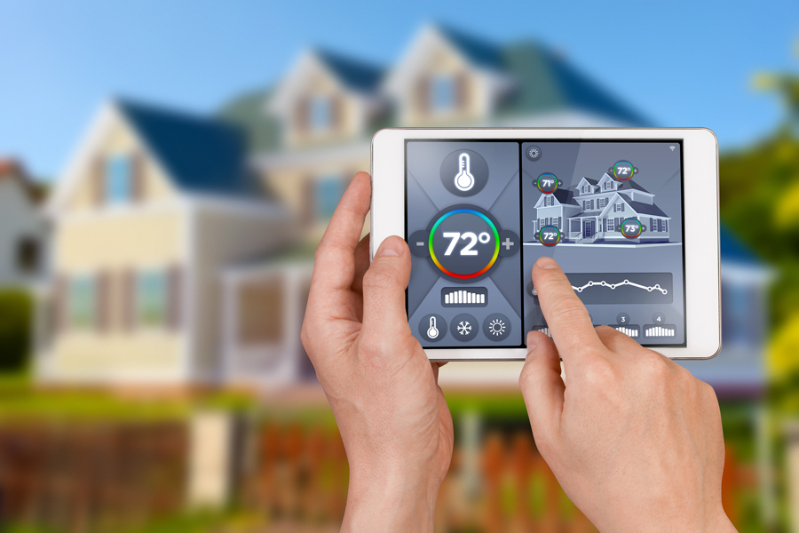 Control your Thermostat from your smartphone, from home or away!