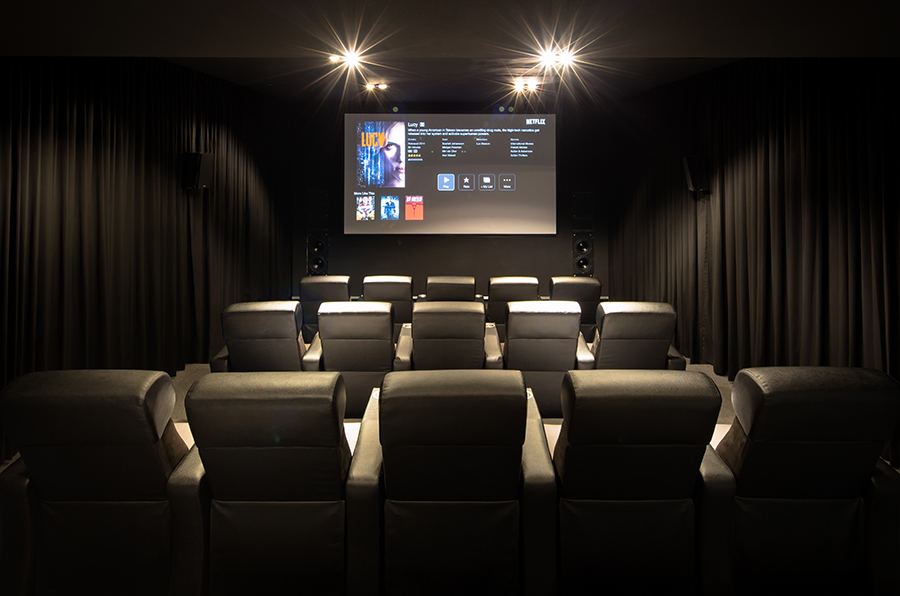 Dimming Lights in Home Theater